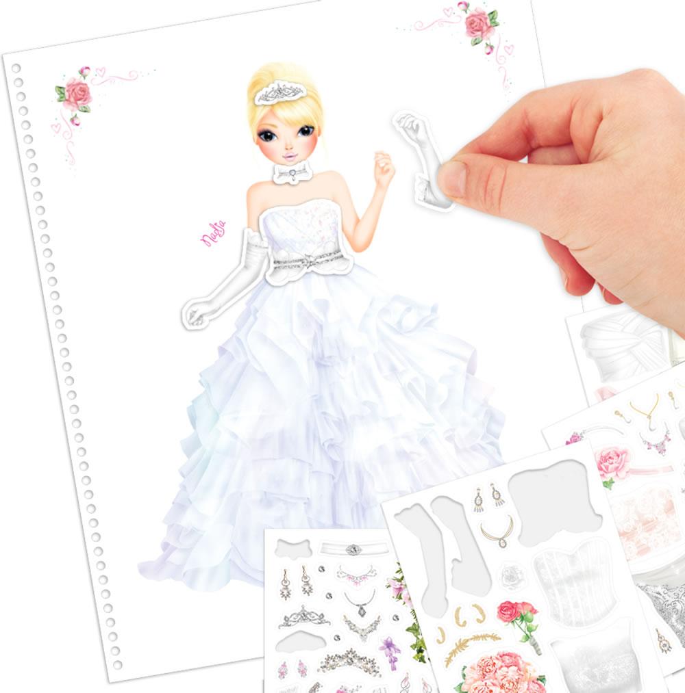 Topmodel Livre À Colorier Create Topmodel Wedding Special Louise destiné Top Model À Colorier