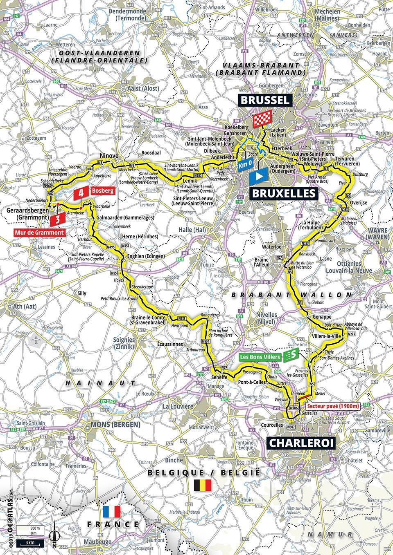 Tour De France | Tour De France 2019 : Découvrez Les Cartes encequiconcerne Carte Du Sud De La France Détaillée