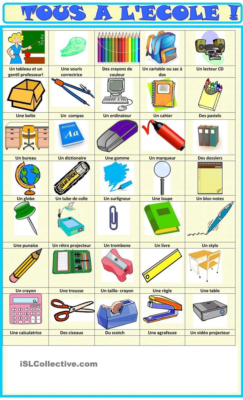 Tous À L'école: Fournitures Imagier   Fournitures Scolaires tout Imagier Ecole