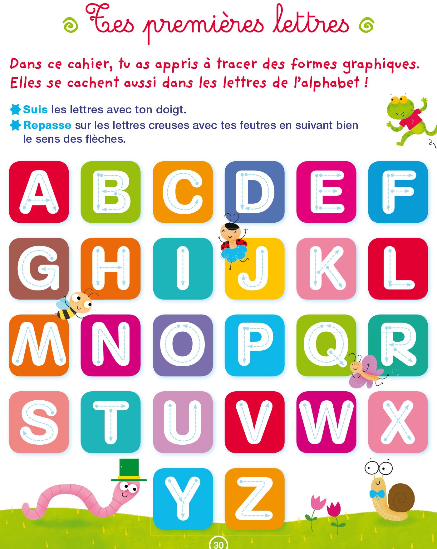 Toute Ma Maternelle Graphisme Ecriture Ps | Hachette pour Exercice D Alphabet En Maternelle