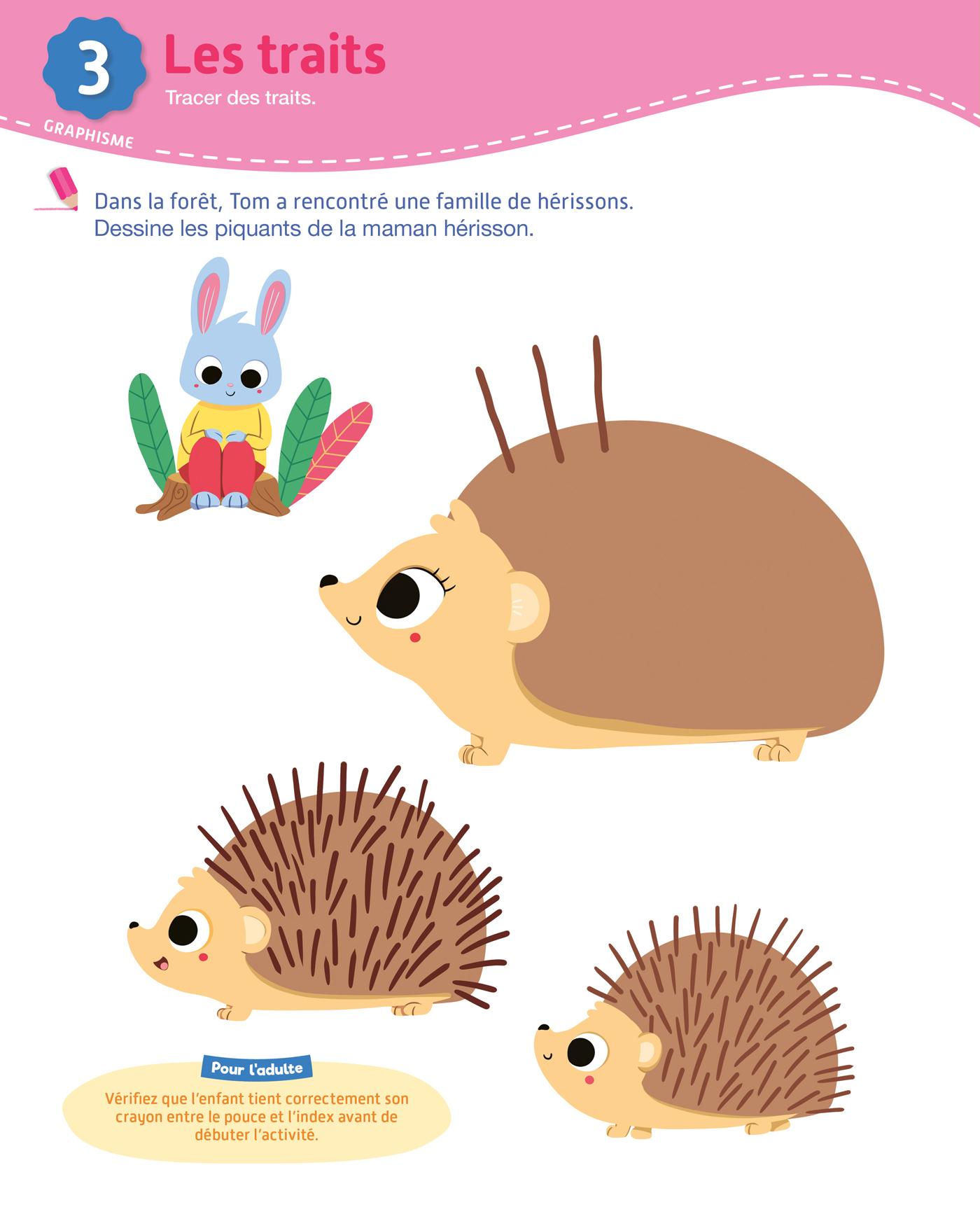 Toute Ma Maternelle- Toute Petite Section 2-3 Ans | Hachette avec Exercice Toute Petite Section