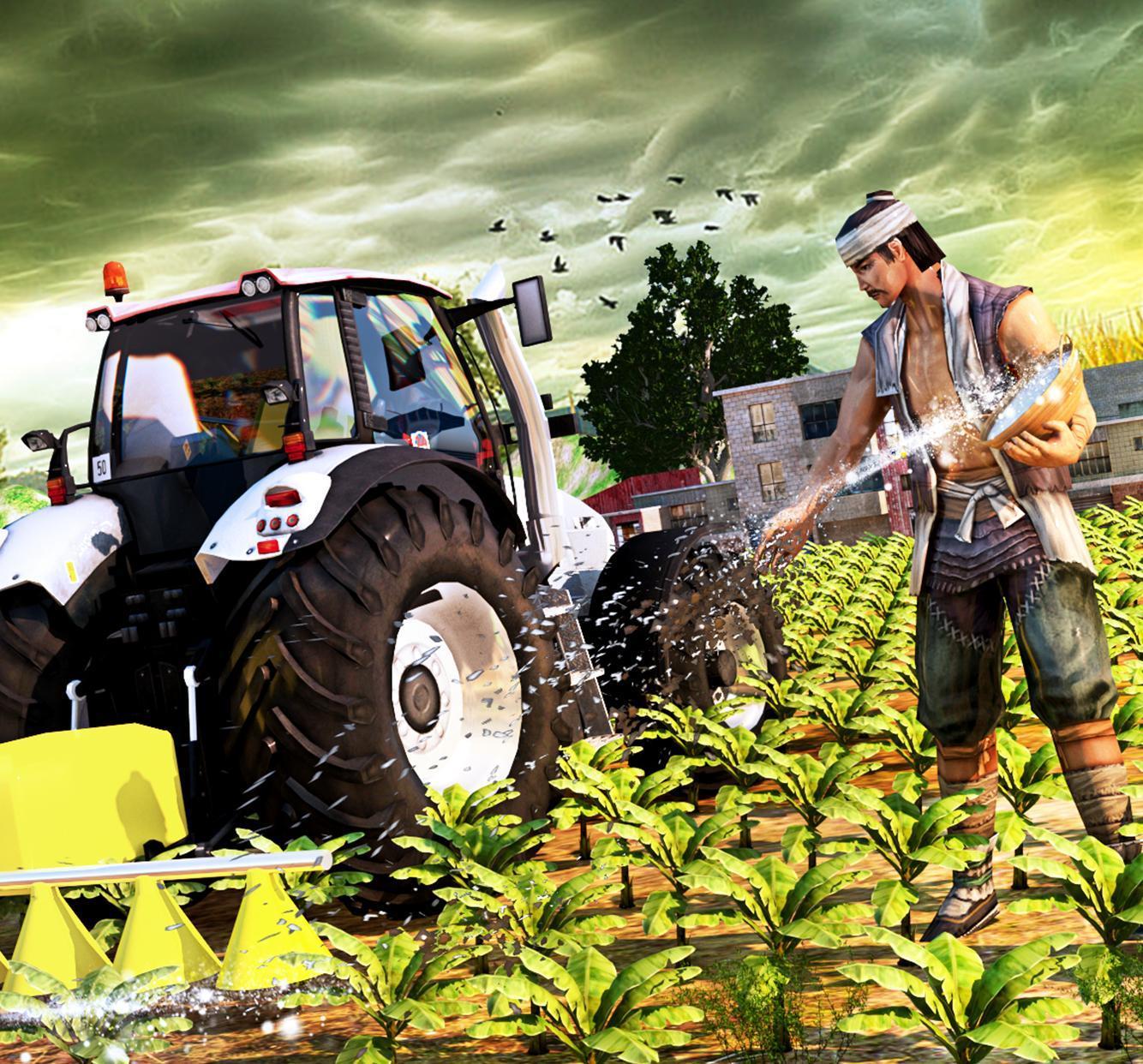 Tracteur Farming Simulator - Tracteur Jeu Pour Android concernant Jeux Gratuit Tracteur A La Ferme