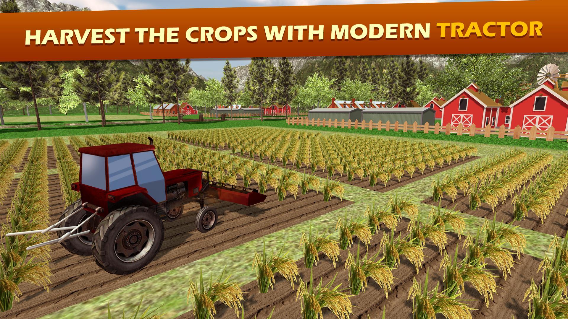 Tracteur Ferme Charrue Simulateu: Agriculture Jeux Pour à Jeux Gratuit Tracteur A La Ferme