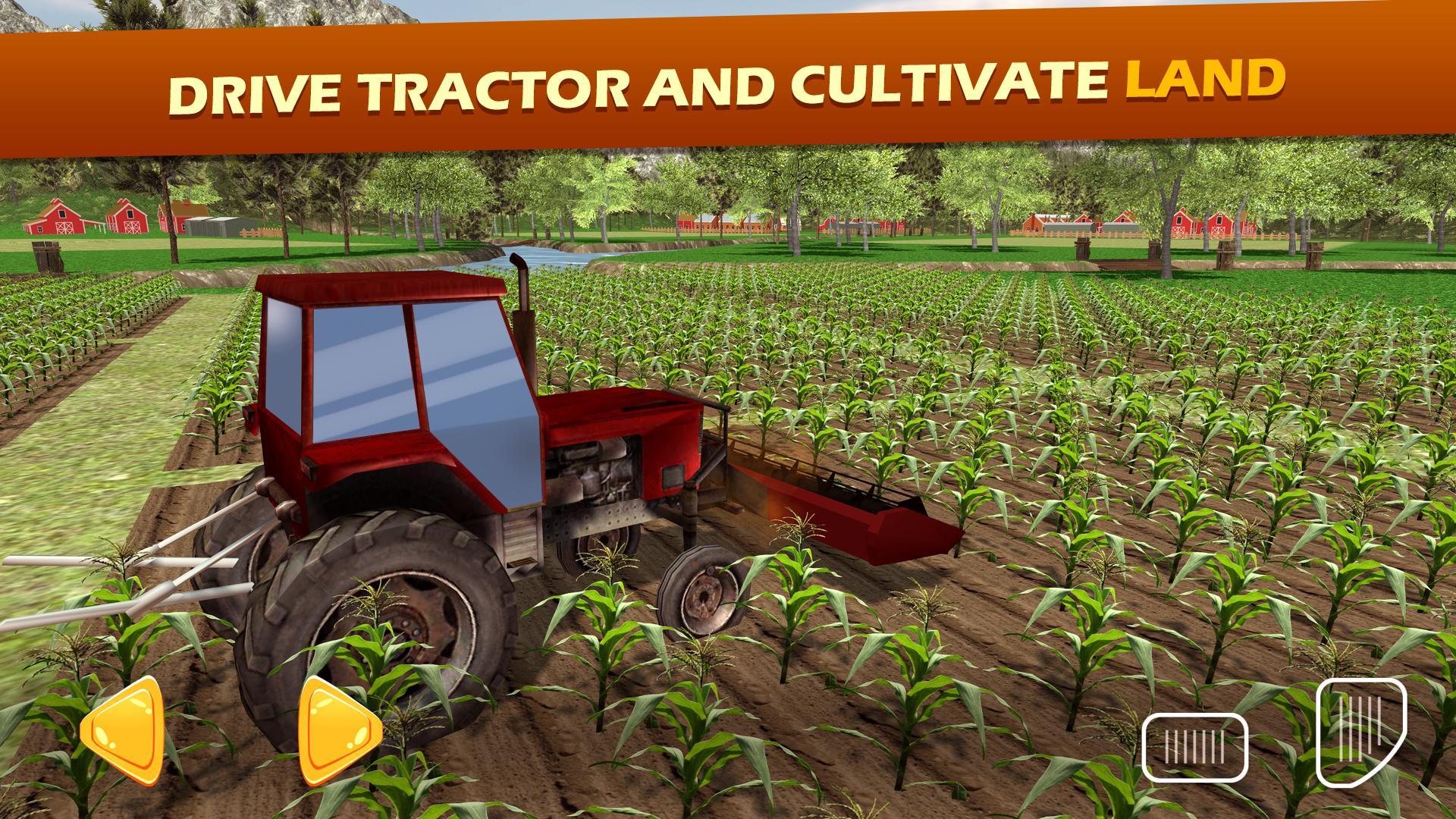 Tracteur Ferme Charrue Simulateu: Agriculture Jeux Pour pour Jeux Gratuit Tracteur A La Ferme