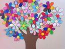 Travaux Manuels Arbre Fleurs Pour D Corer 7 Tapes Avec Img dedans Travaux Manuels Printemps Maternelle