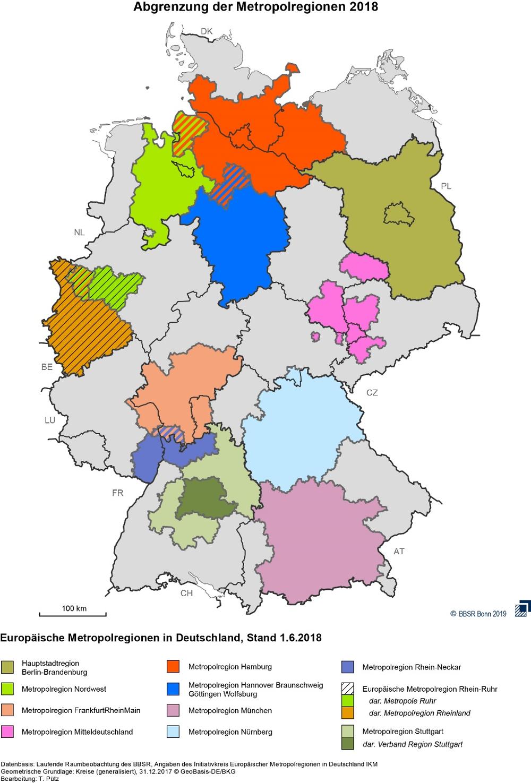 Trends, Challenges And Opportunities In The Hamburg destiné Les 22 Régions De France Métropolitaine