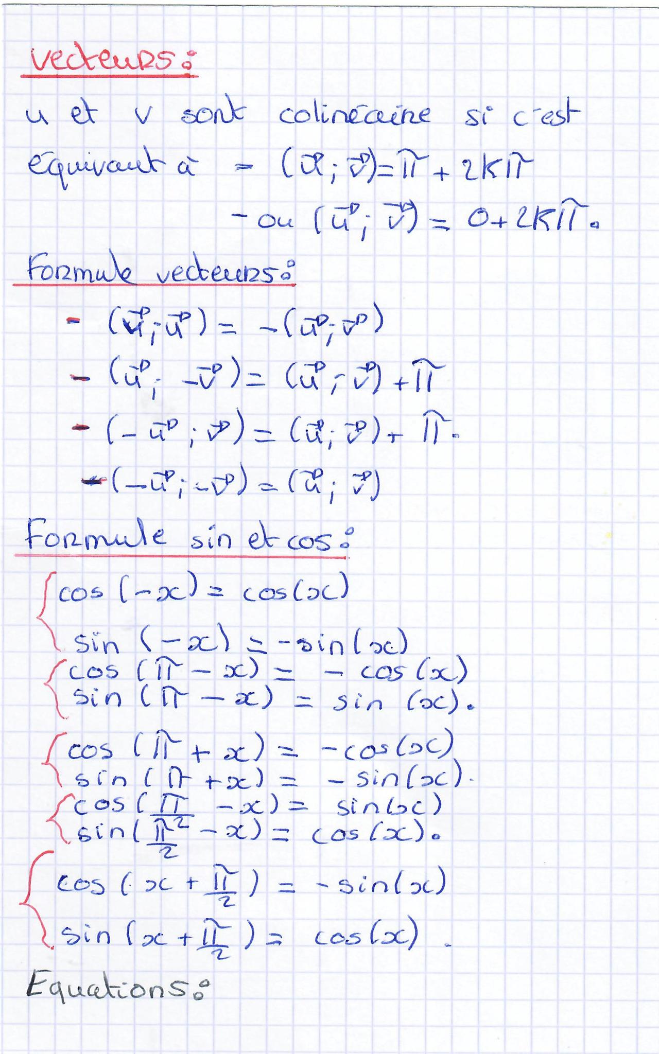 """Trigonométrie En 1S En Mode """" Cahiers De Vacances"""" - Maths dedans Cahier De Vacances 1Ere S"""