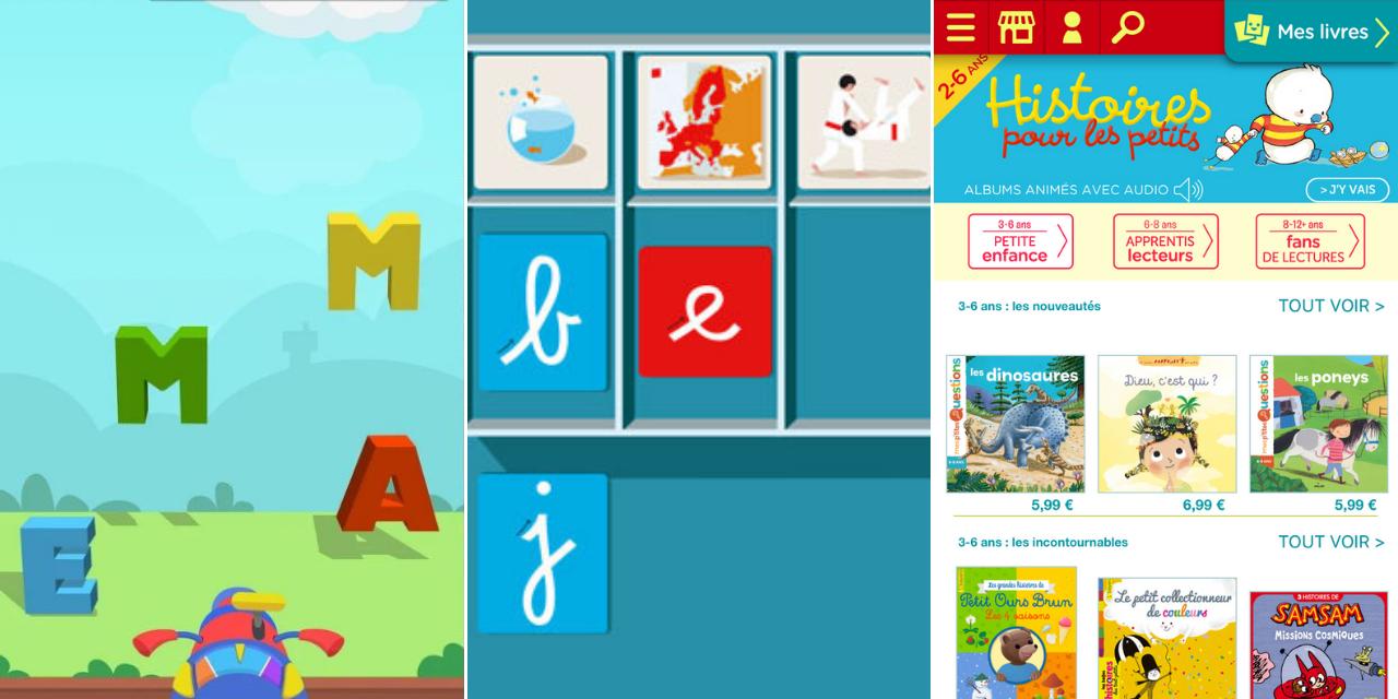 Trois Applis Pour Apprendre À Lire En S'amusant à Jeux Pour Apprendre À Écrire