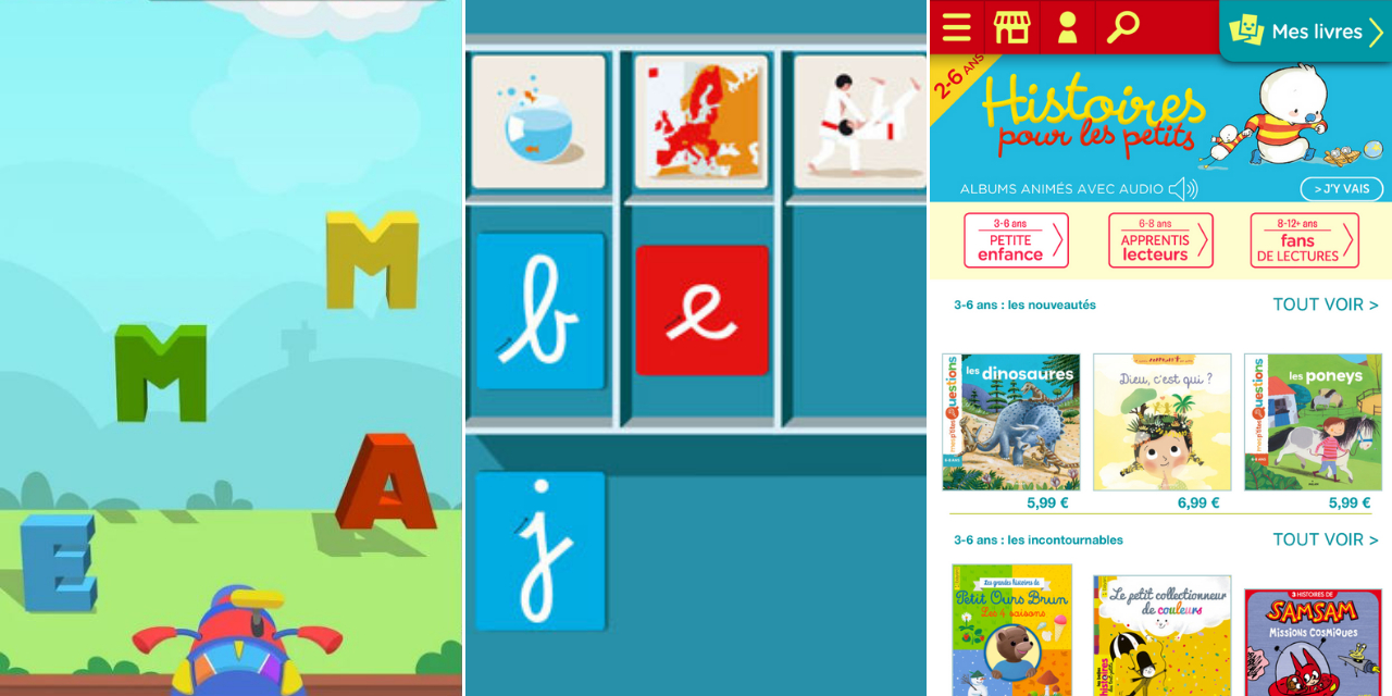 Trois Applis Pour Apprendre À Lire En S'amusant destiné Jeux Pour Apprendre À Lire 4 Ans