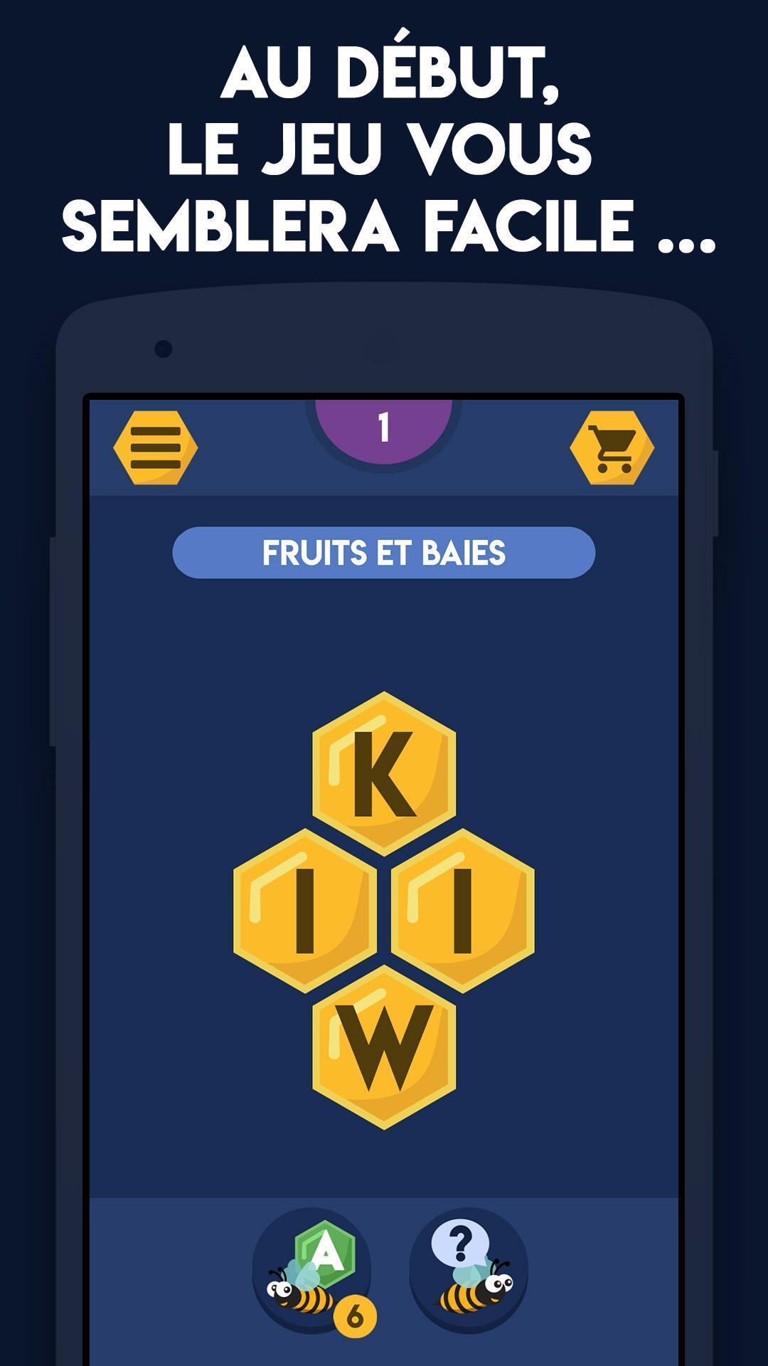 Trouver Des Mots Pour Android - Téléchargez L'apk destiné Jeux De Mots A Trouver