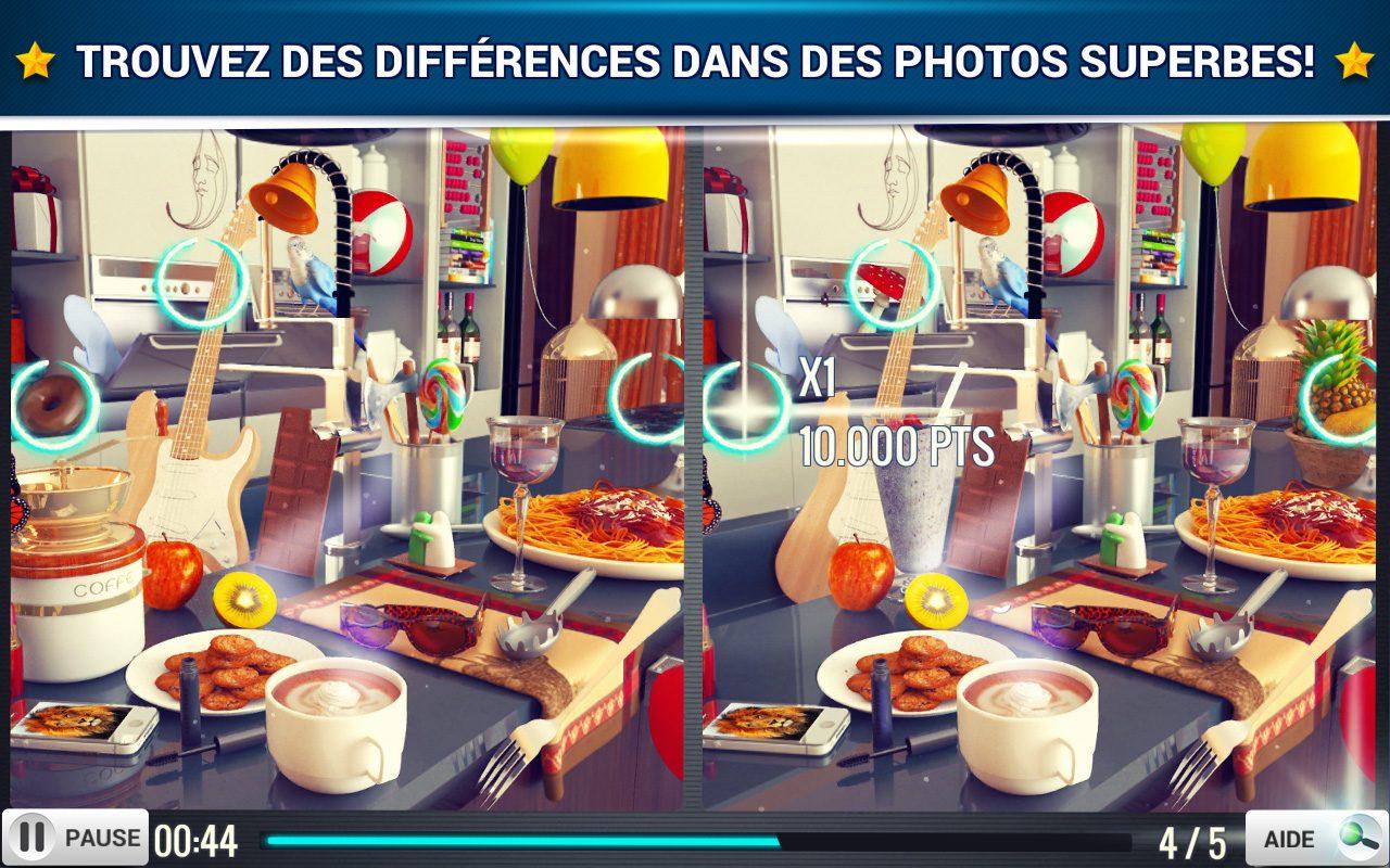 Trouver La Différence Cuisine - Jeux Midva Gratuits pour Jeux Gratuits De Différences