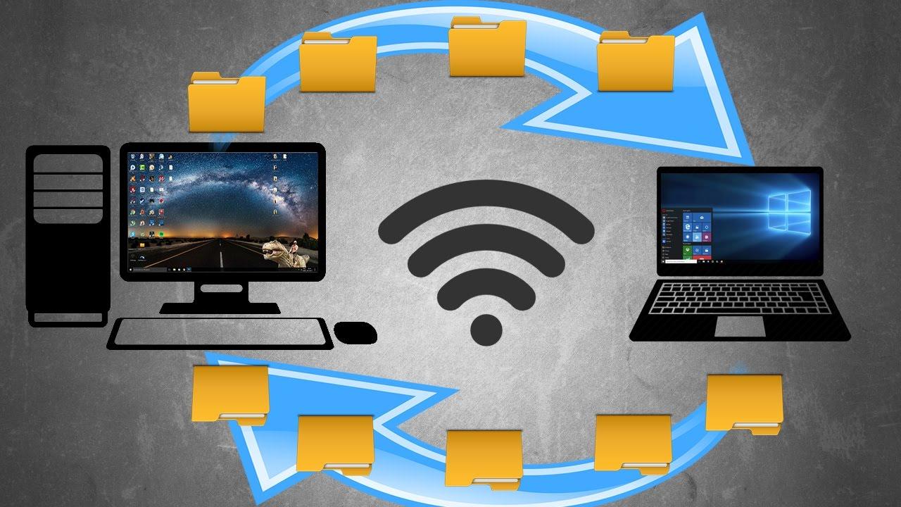 Tuto ► Transférer Des Fichiers Entre Deux Pc Par Wi-Fi (Windows) tout Relier Deux Pc