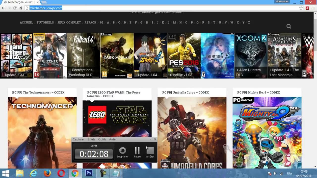 Tuto Meilleur Site Pour Télécharger Des Jeux Pc Complet avec Site De Telechargement De Jeux Gratuit