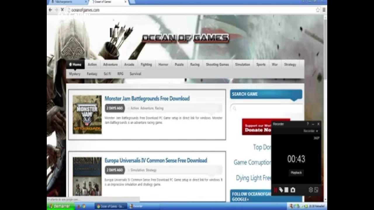Tuto] Meilleur Site Pour Télécharger Des Jeux Pc , En Plus pour Jeux Pour Telecharger Sur Pc