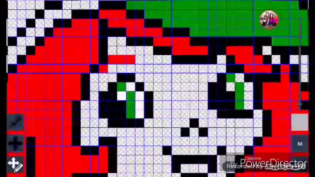 Tuto Pixel Art Charlotte Aux Fraises - pour Pixel Art Fraise