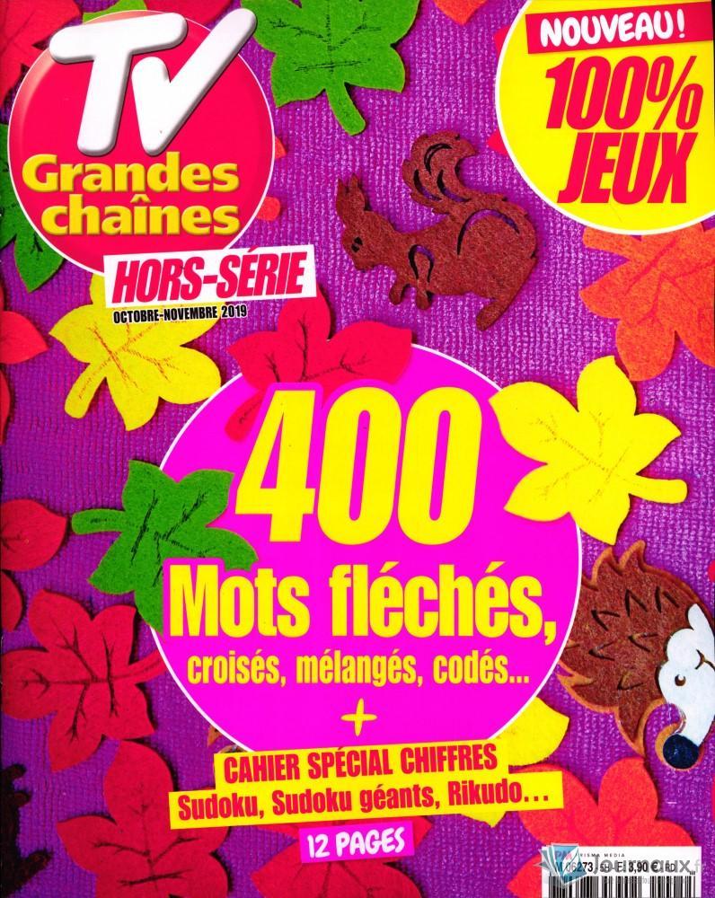 Tv Grandes Chaines Hors-Serie pour Mot Fleches Geant