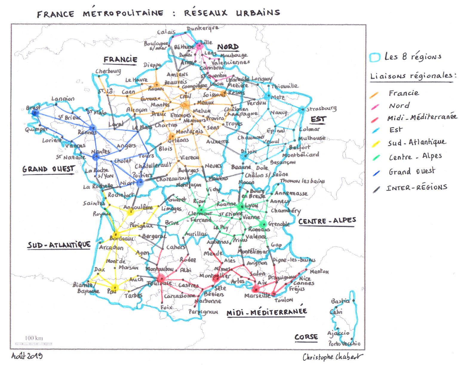 Un Découpage De La France En 13 Régions Et 20 Provinces destiné Carte Anciennes Provinces Françaises