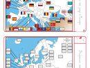 Un Dossier Complet Pour Étudier L'europe (Cartes, Drapeaux avec Pays D Europe Et Capitales