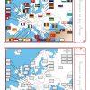 Un Dossier Complet Pour Étudier L'europe (Cartes, Drapeaux intérieur Quiz Sur Les Capitales De L Union Européenne