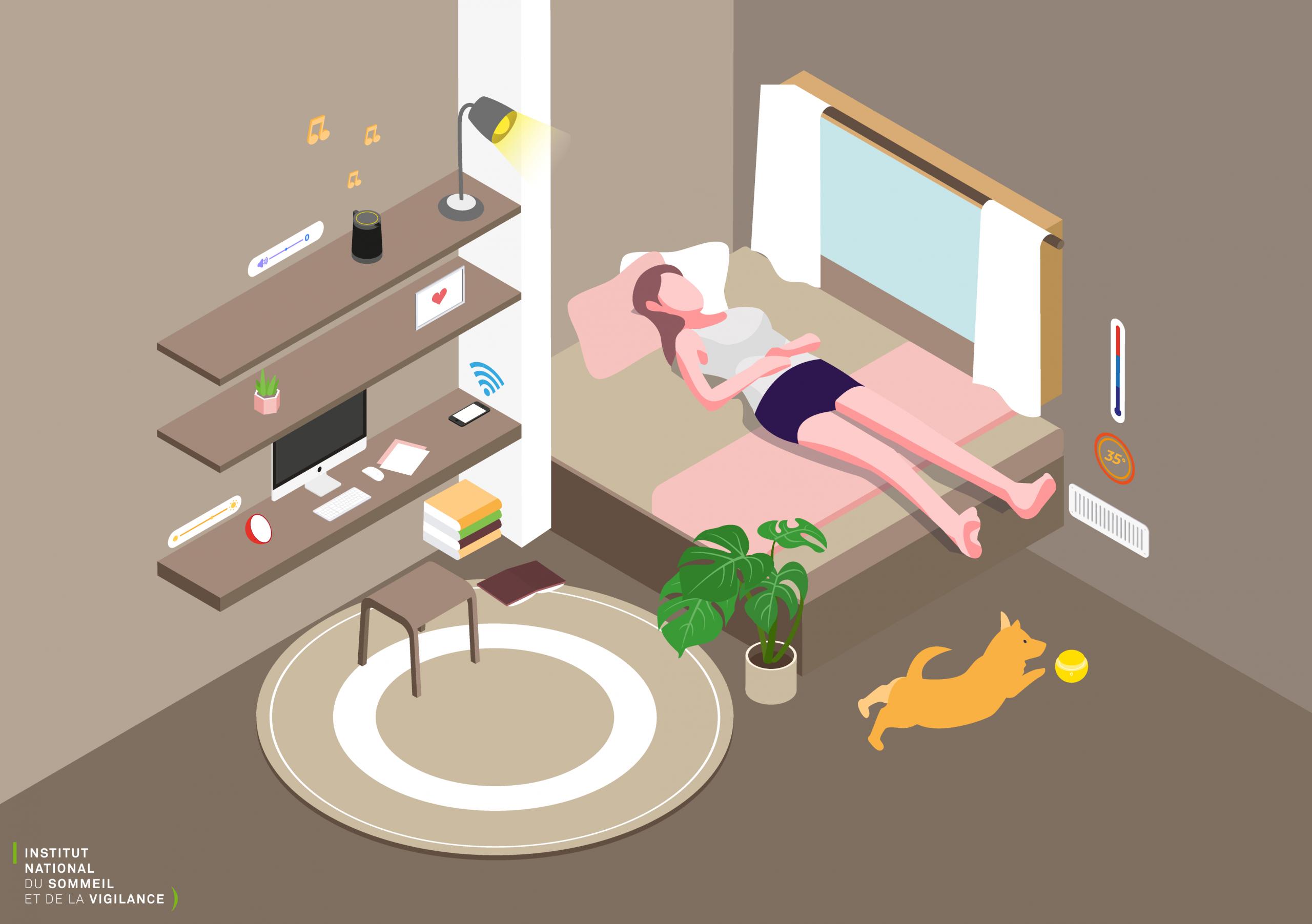 Une Chambre Idéale Pour Bien Dormir : Jeu Des 6 Erreurs pour Jeux Les 7 Erreurs