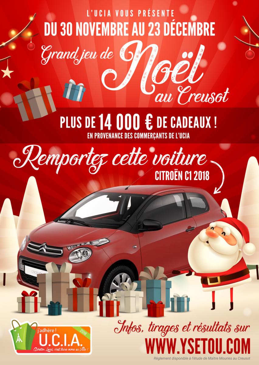 Une Citroën C1 À Gagner Pour Le Grand Jeu De Noël De L'ucia dedans Jeux A Faire Dans La Voiture
