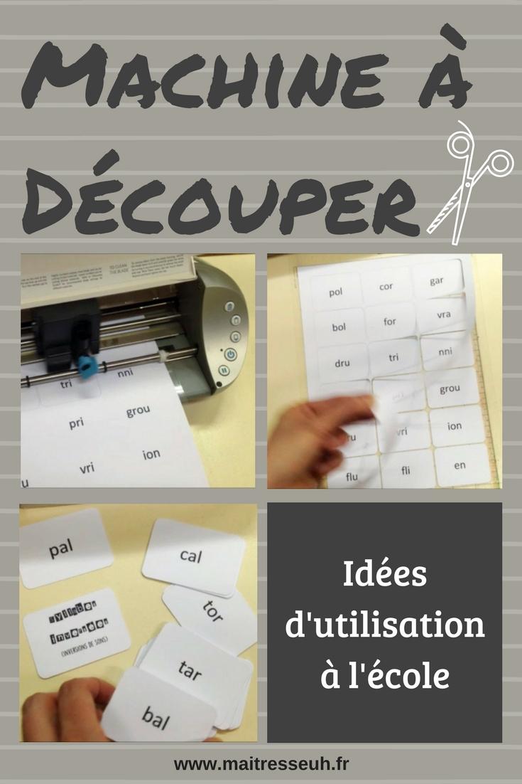 Une Machine À Découper Pour La Classe. Utile Ou Pas ? Idées dedans Papier Plastifié Imprimable
