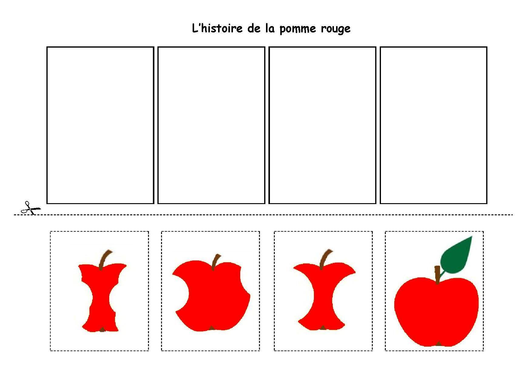 Une Peu Comme A Ecole Histoires pour Images Séquentielles À Imprimer