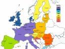 Union Européenne - Date D'adhésion • Carte • Populationdata avec Liste Des Pays De L Union Européenne Et Leurs Capitales