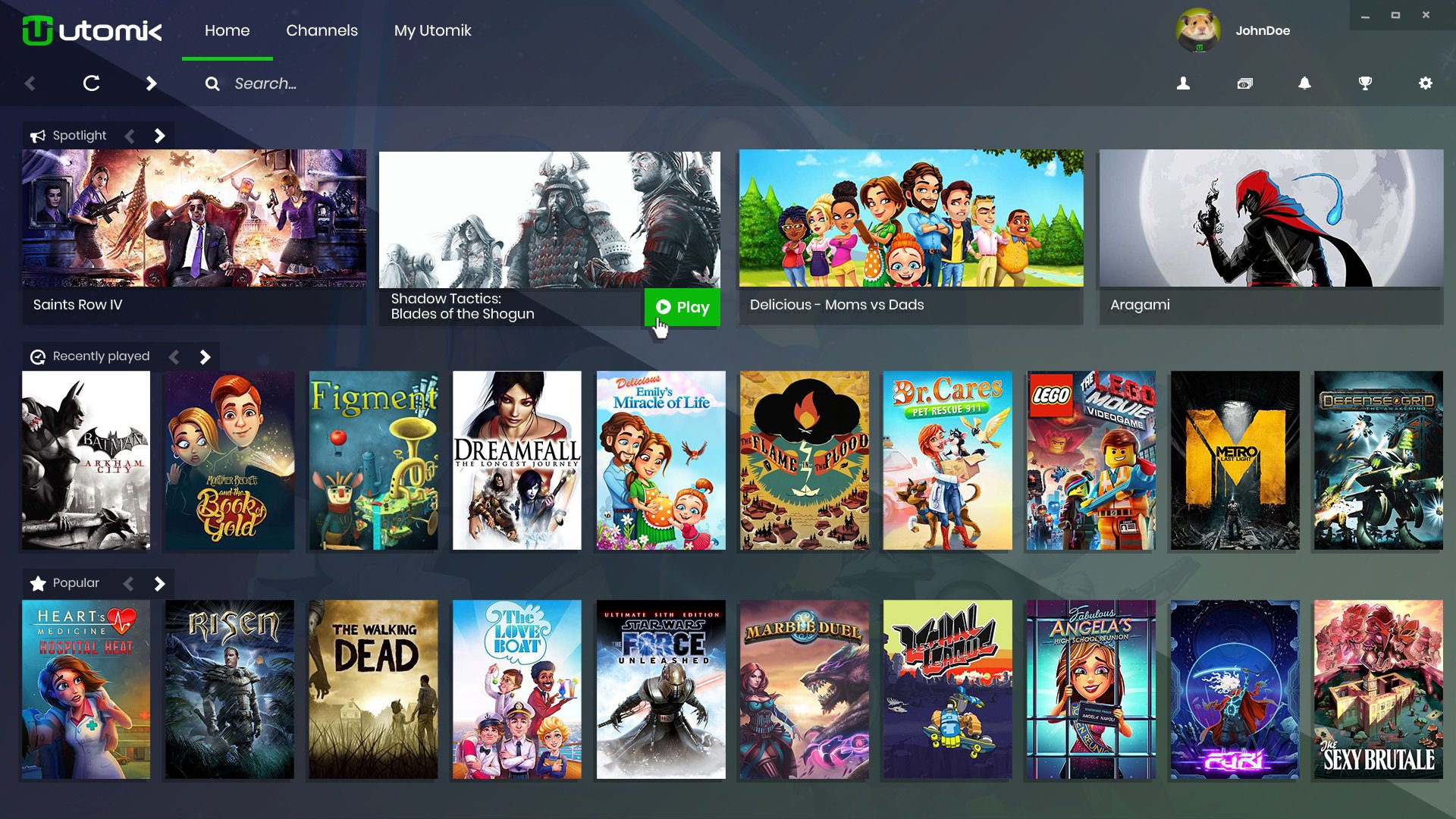 Utomik 0.54.0.0 - Télécharger Pour Pc Gratuitement intérieur Jeux Video Gratuit A Telecharger Pour Pc