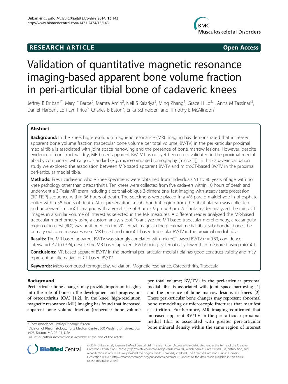 Validation Of Quantitative Magnetic Resonance Imaging-Based à Traits Obliques Ms