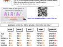 Verbes Du 3Ième Groupe | Le Blog De Monsieur Mathieu destiné Exercice Cm1 Conjugaison À Imprimer