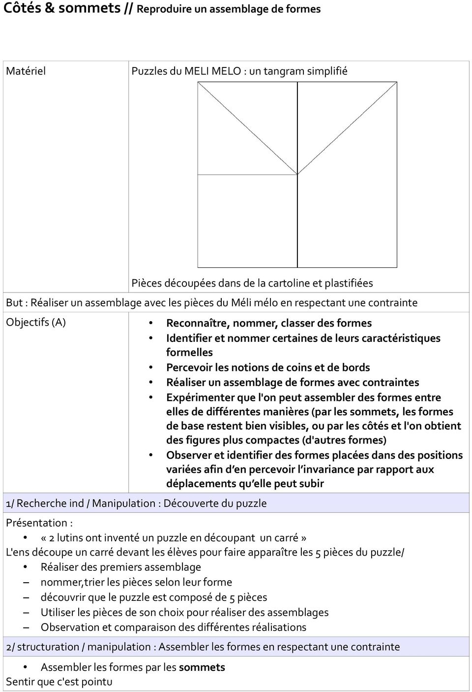 Vers Les Maths Maternelle Moyenne Section Download Free destiné Tangram Grande Section