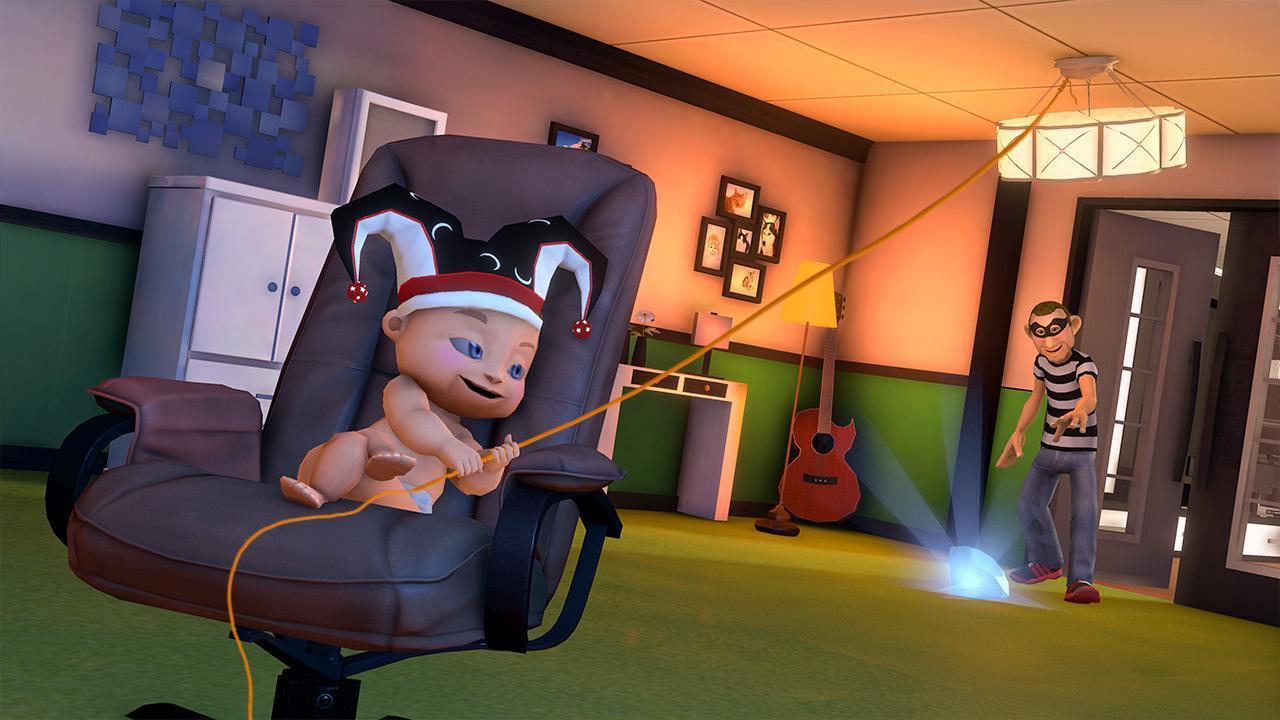 Virtuel Bébé Mère Simulateur Famille Jeux Pour Android tout Jeux De Bébé Virtuel