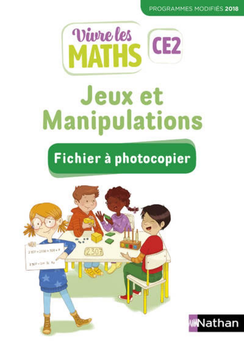 Vivre Les Maths - Fichier Jeux Et Manipulations Ce2 destiné Jeux De Éducatif Ce2
