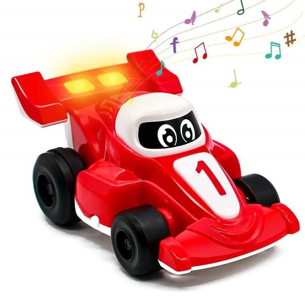 Voiture Enfant Jouet Musical Bebe Jouet D'eveil Voiture intérieur Jeux Bebe Voiture