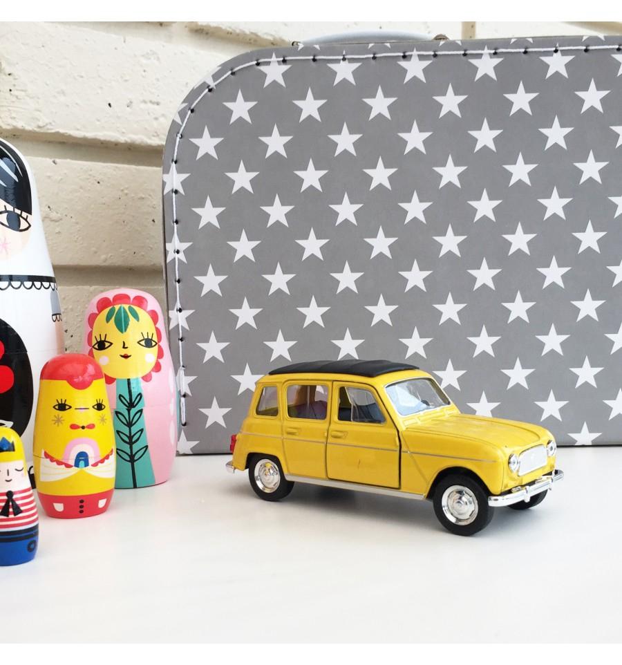 Voiture Renault 4L Jaune dedans Jeux De La Voiture Jaune