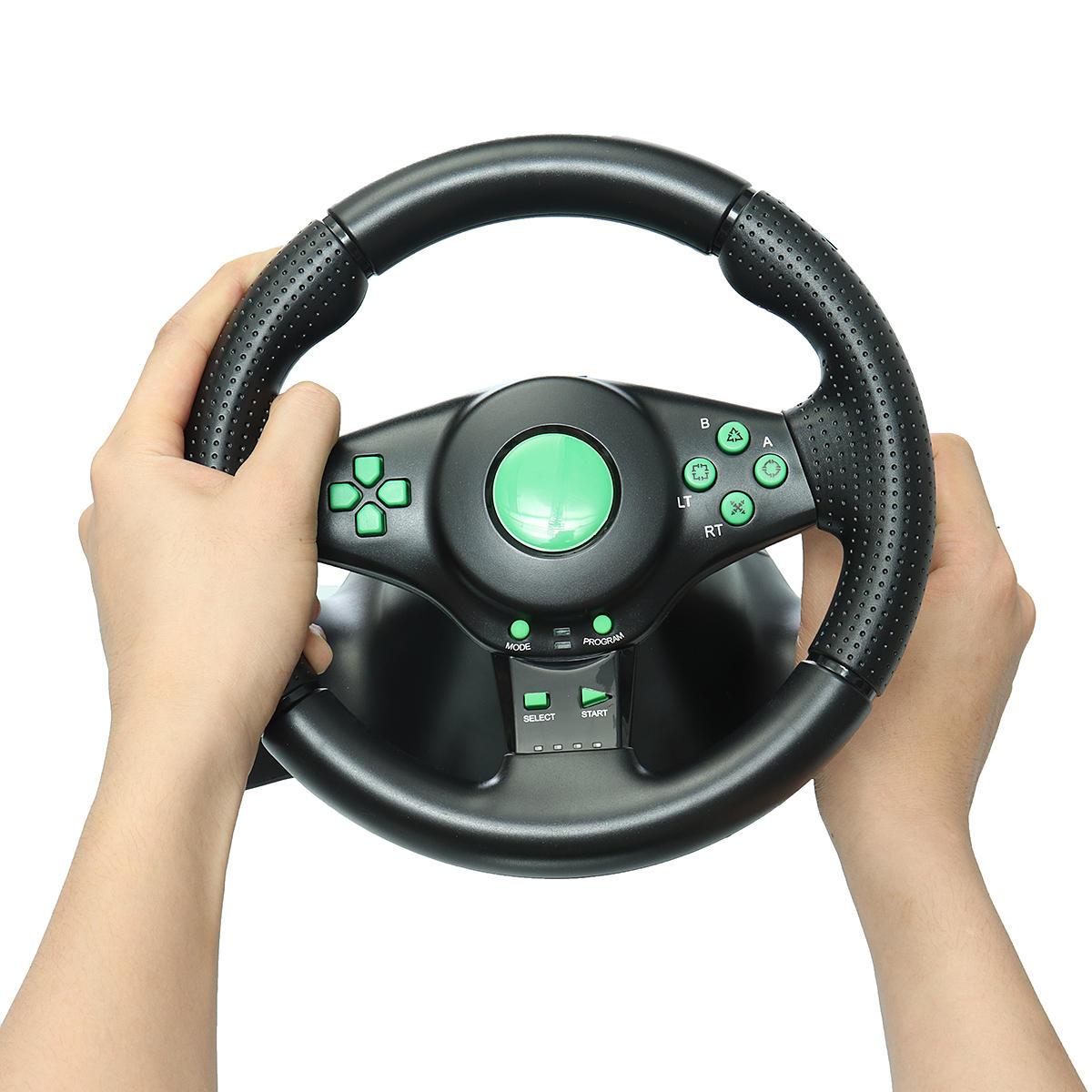 Volant De Jeu De Course Pour Console De Jeu Xbox 360 Ps2 Pour Ps3 Volant De  Voiture Pour Voiture Avec Vibrations Pc intérieur Jeux De Voiture Au Volant