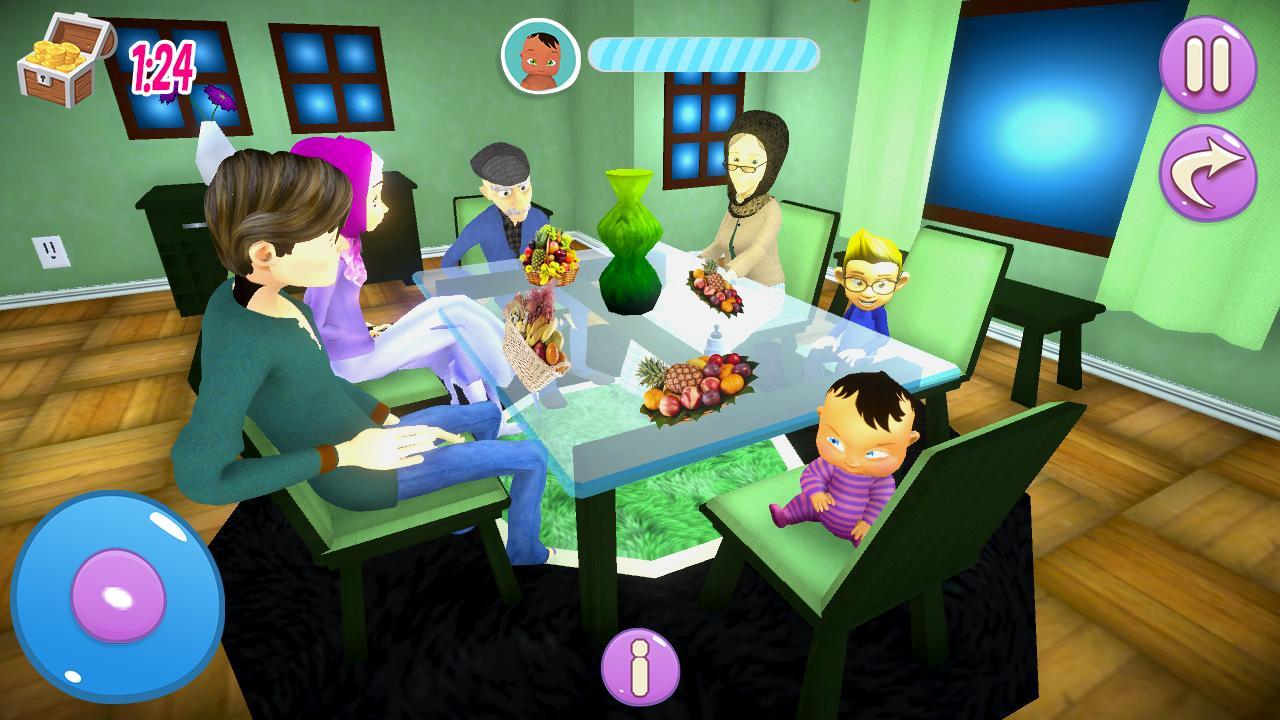 Vraie Mère Bébé Jeux 3D: Sim De Famille Virtuelle Pour dedans Jeux De Bébé Virtuel