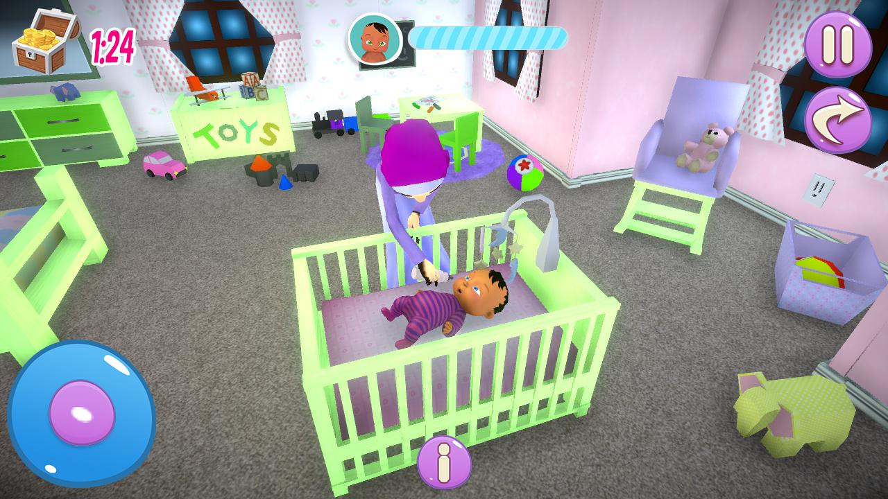 Vraie Mère Bébé Jeux 3D: Sim De Famille Virtuelle Pour serapportantà Jeux De Bébé Virtuel