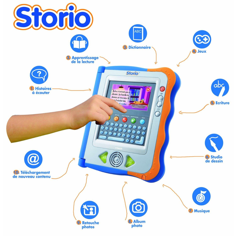 Vtech Storio : La Tablette Tactile Éducative Pour Les pour Tablette Jeux 4 Ans