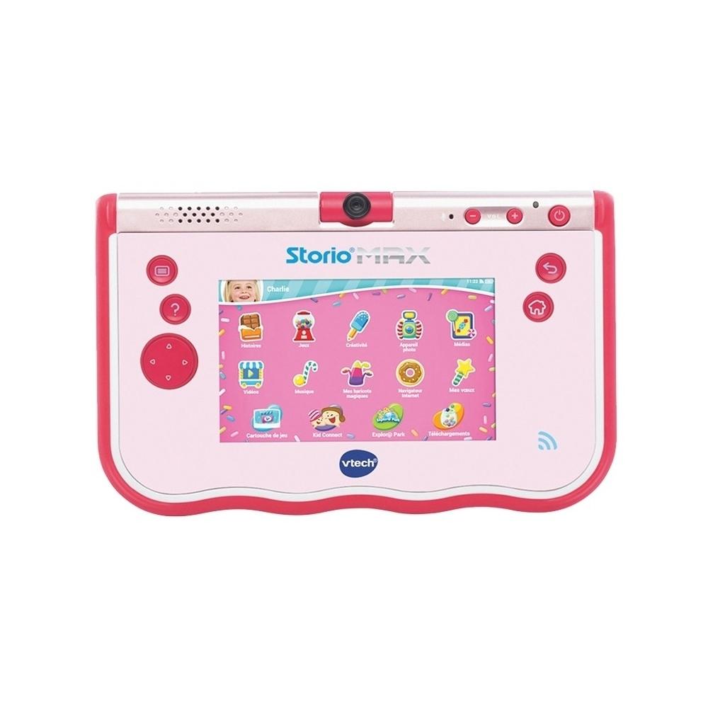 Vtech Tablette Storio Max 5 Rose 3-11 Ans Ca2 Ref 80-183855 à Tablette Jeux 4 Ans