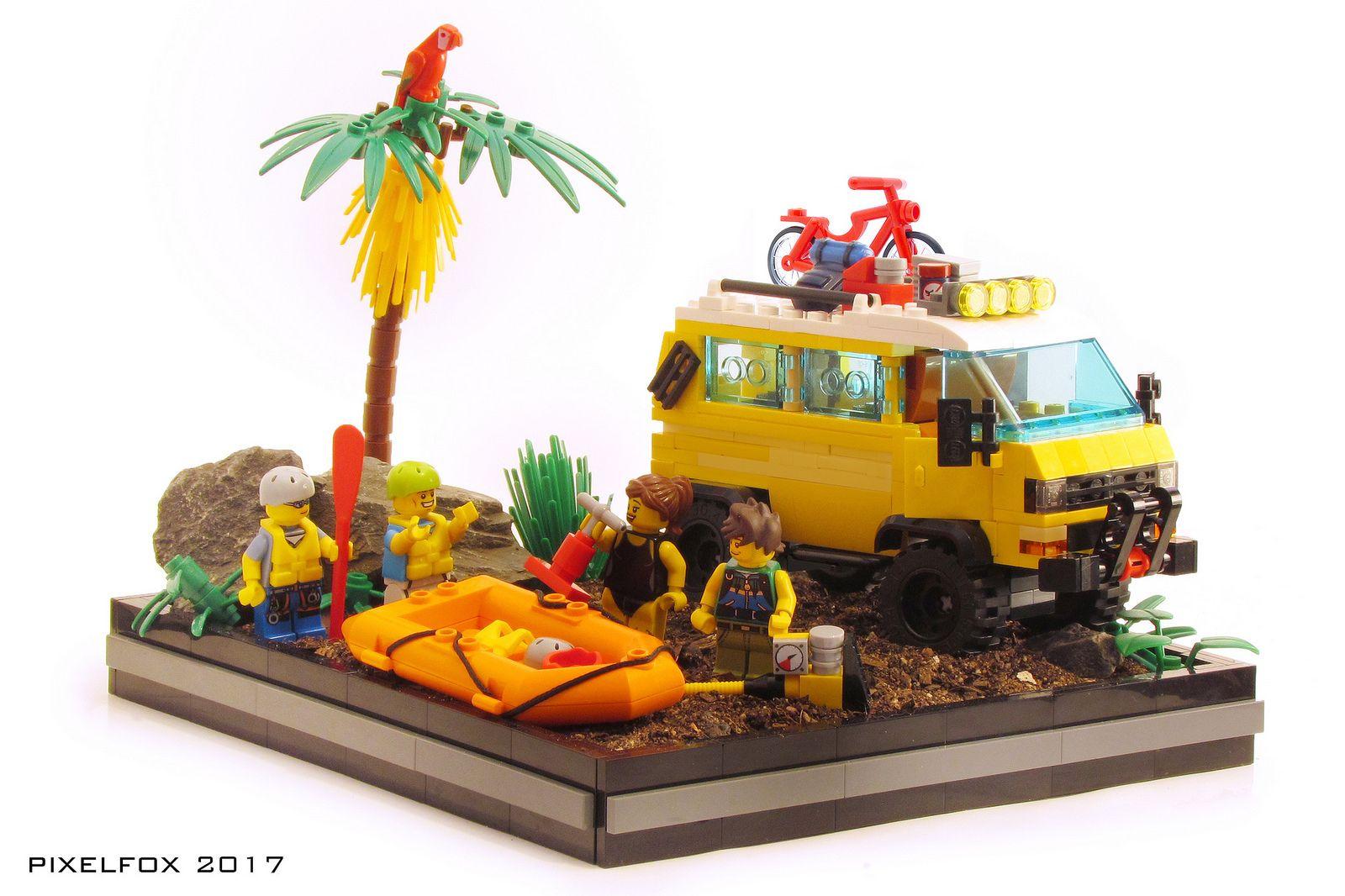 Vw Type 2 (T3) Syncro | Voiture Lego, Lego Et Lego Camion pour Pixel Jouet
