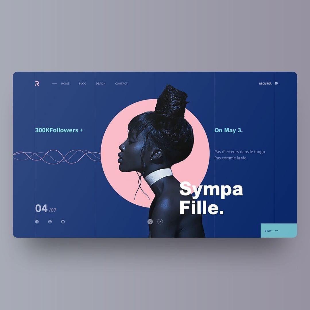 Website3-Sympa Fille — Yiker For Redscarf #designer #top à Ux De Fille