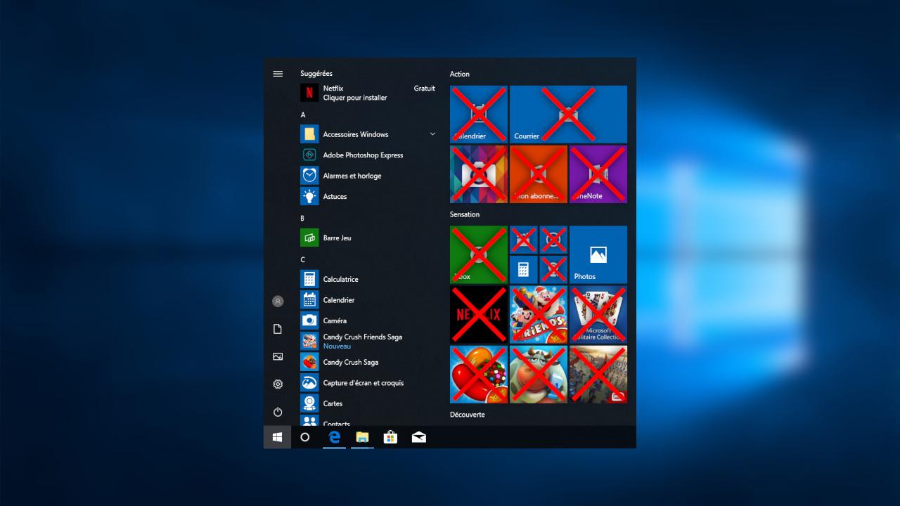 Windows 10 : Supprimer Les Applications Pré-Installées Avec pour Logiciel Jeux Pc