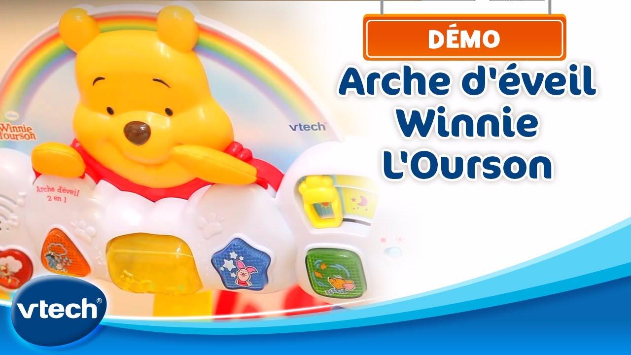 Winnie - Arche D'éveil 2 En 1 - Plonger Bébé Dans Un Monde De Douceur |  Vtech intérieur Jeux D Eveil Bébé 2 Mois