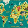World Map Wallpaper | Art Carte, Carte Du Monde A Imprimer encequiconcerne Planisphère Enfant