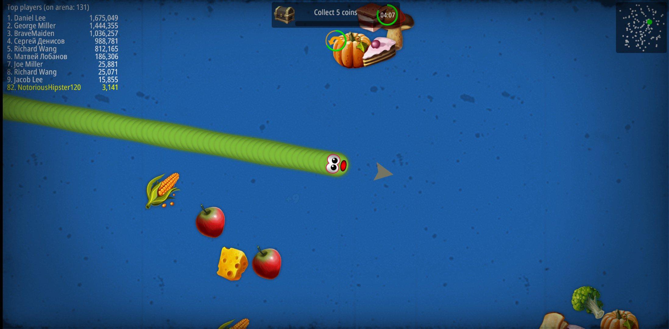 Worms Zone .io 1.3.4-D - Télécharger Pour Android Apk avec Jeux À Plusieurs En Ligne