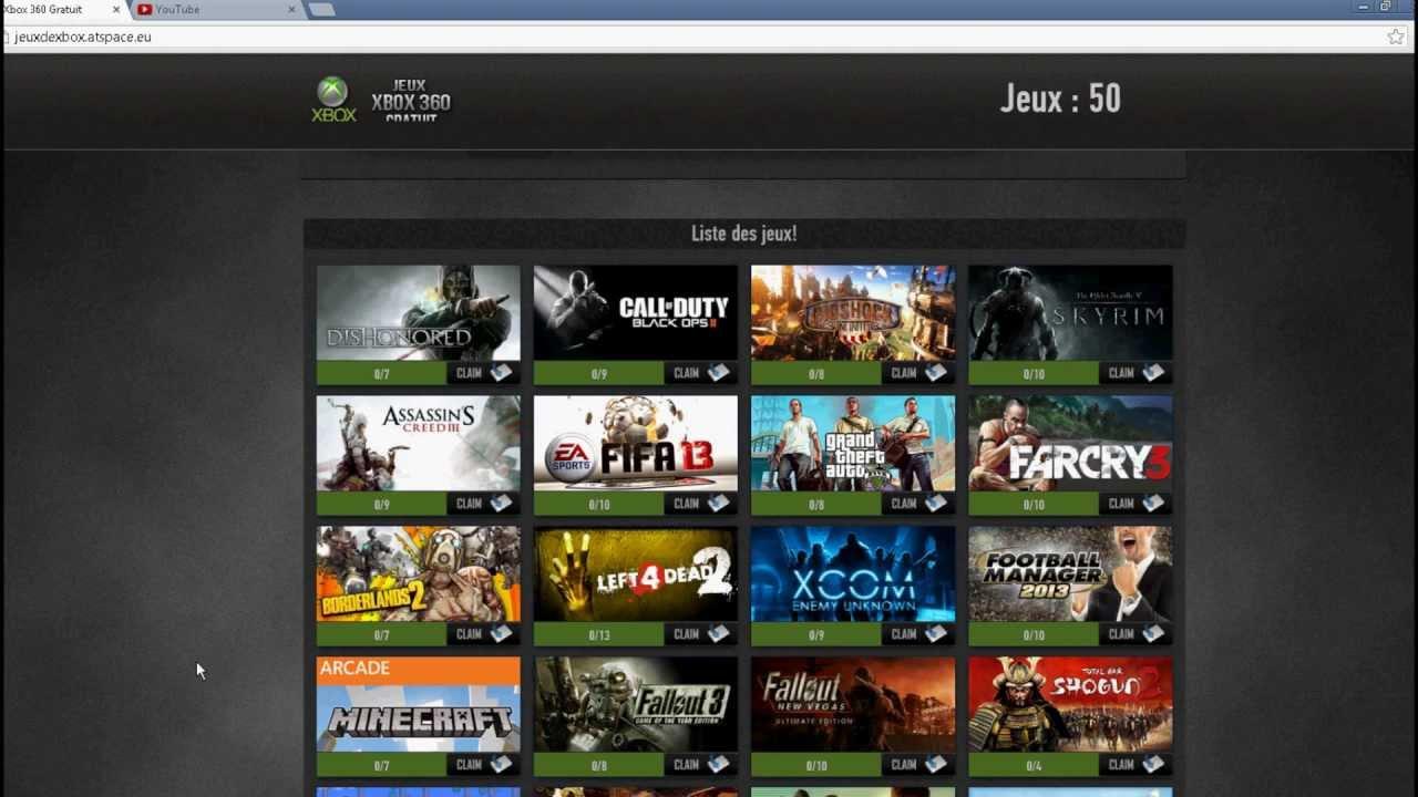 Xbox 360 Jeux Gratuits! [Aout 2013] [Telechargement] à Site De Telechargement De Jeux Gratuit
