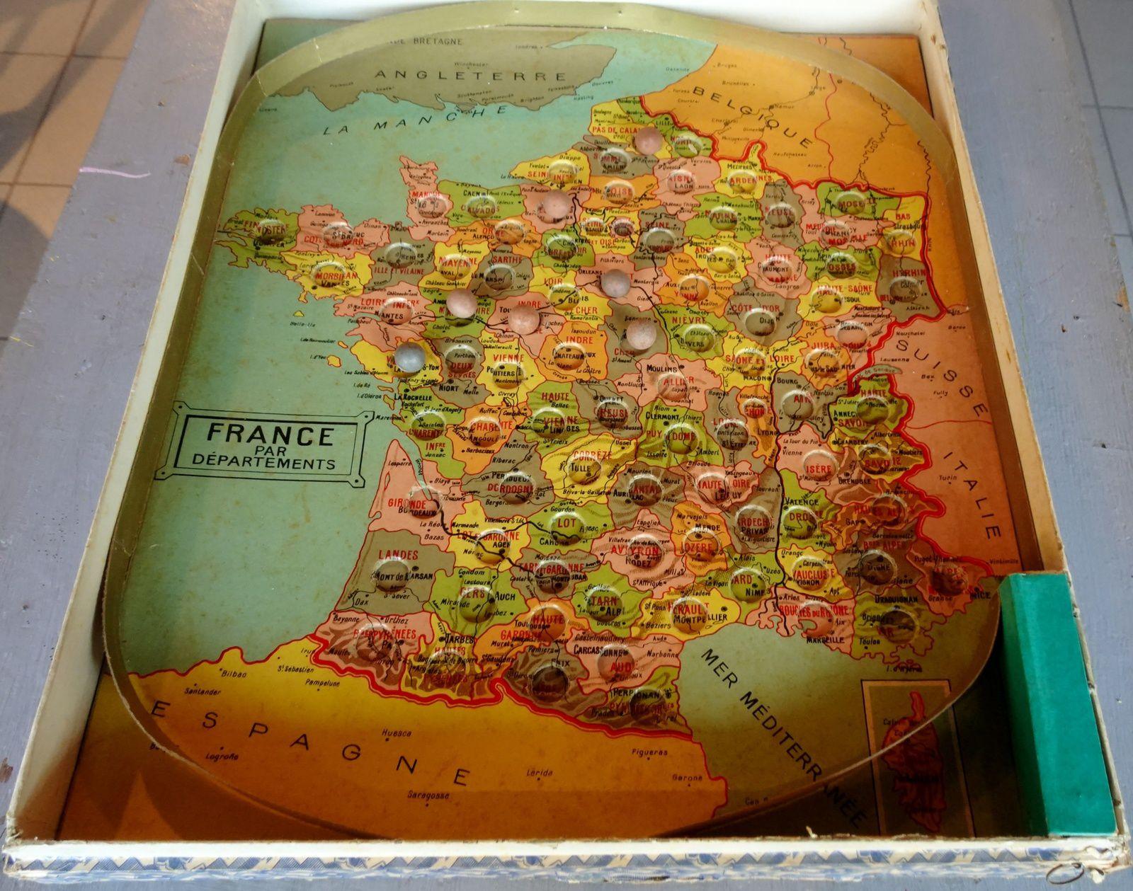 Y. Les Jeux D'etienne - Collection De Jeux Anciens concernant Jeux Geographique Ville De France