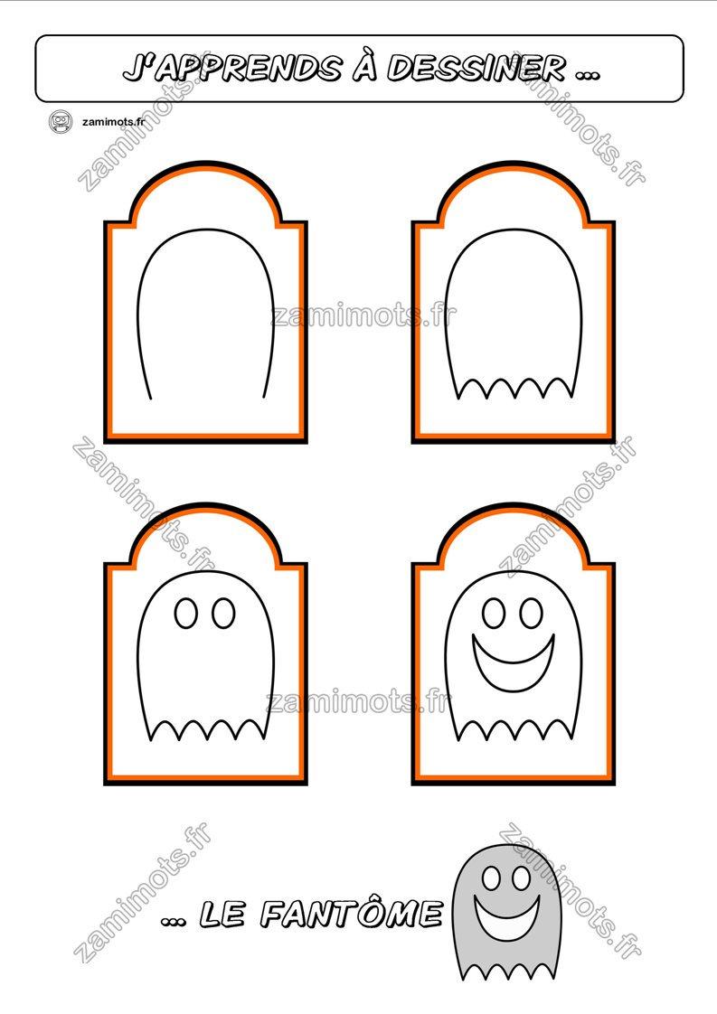 Zamimots (@zamimots) | Twitter avec Apprendre À Dessiner Halloween